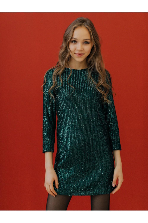 Платье с пайетками #AS081p