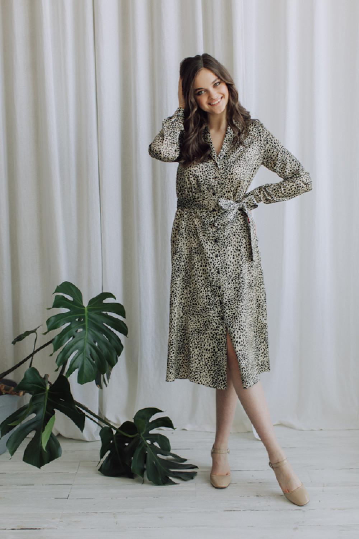 Платье-рубашка AS092pl