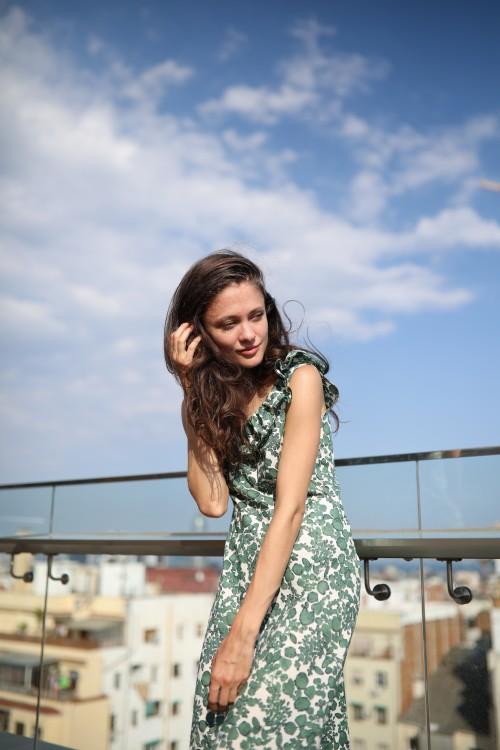 Платье AS D54/зеленый