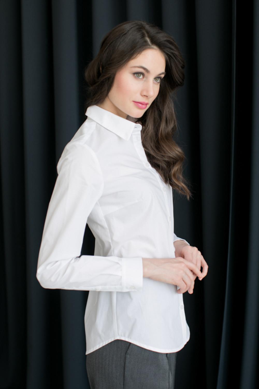 Рубашка приталенная AS011r
