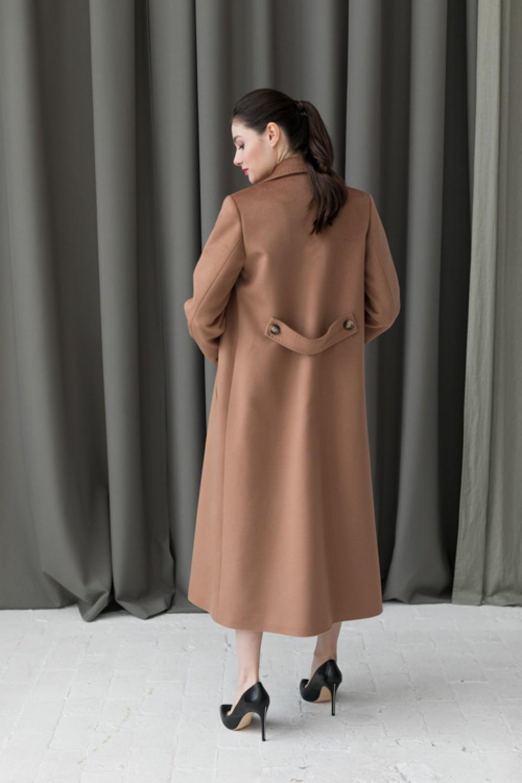 Удлинненое пальто AS071