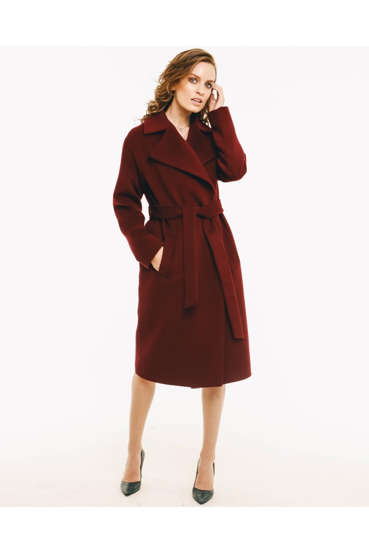 Пальто AS50w/бордо
