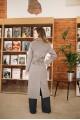 Пальто AS55/коричневый