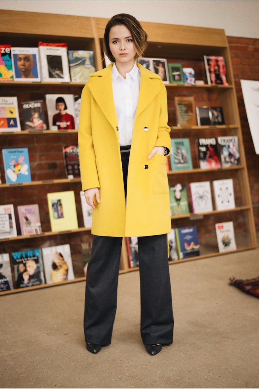 Укороченное пальто #AS55K