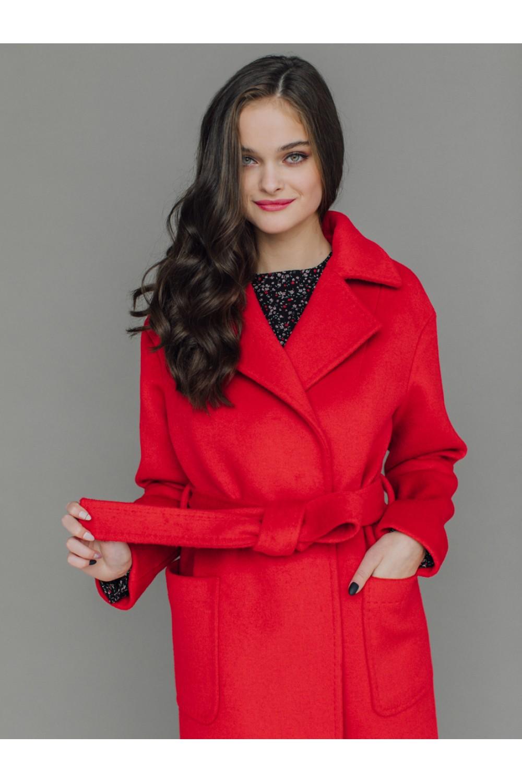 Удлиненное пальто AS55m