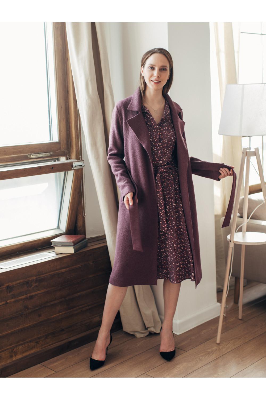 Двубортное пальто без подкладки #AS70v