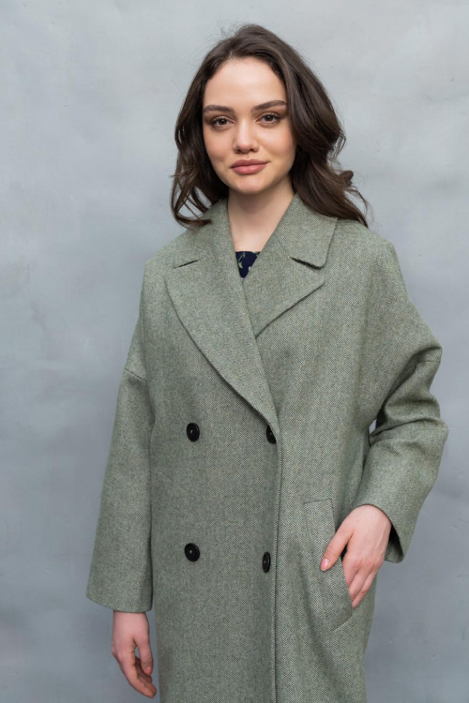 Пальто-кокон AS062rub