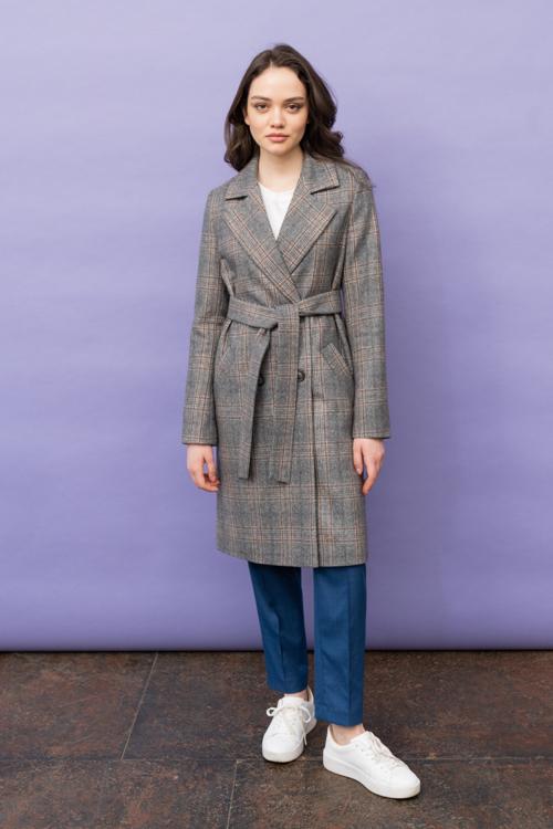 Пальто AS070K-2kl/коричневый