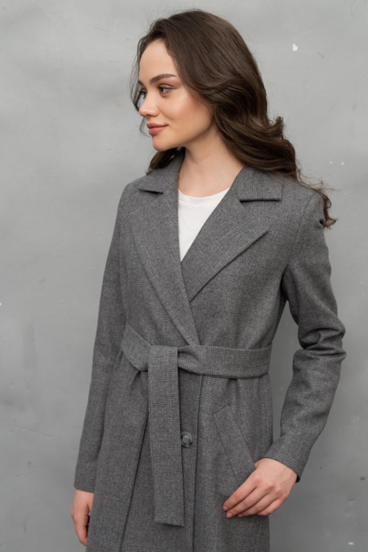 Пальто AS070K-2kl/серый