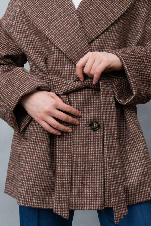 Укороченное пальто AS080gl