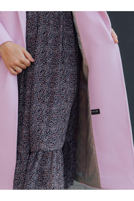 Пальто-халат с прорезными карманами #AS063K-2
